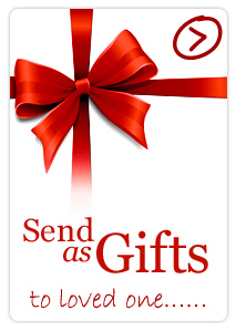 Send as gifts to your love one!