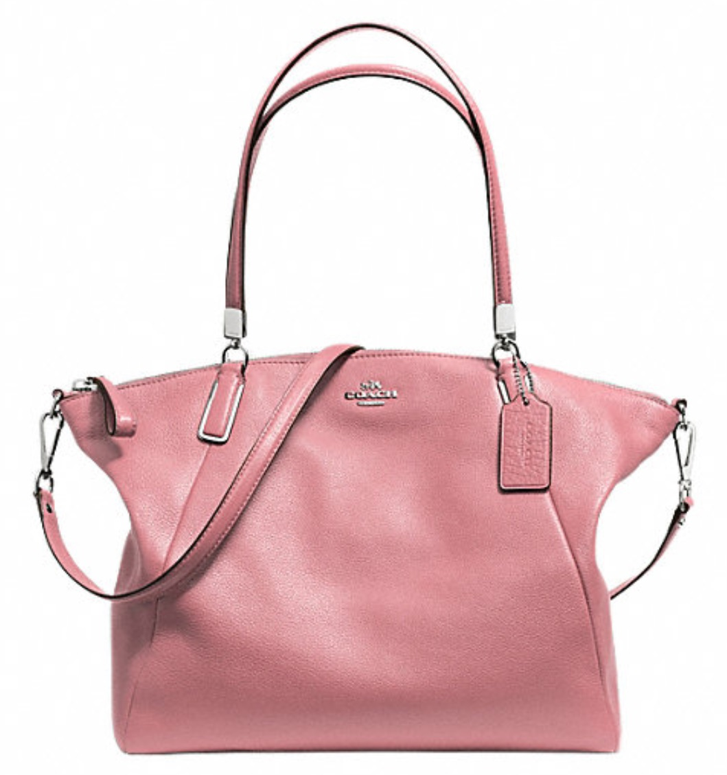dfc5c4c985 ... mini kelsey satchel bag handbag e06db cedbb  new zealand coach pebble  leather kelsey satchel shadow rose f34494 1050 handbags coach 2824d d3435