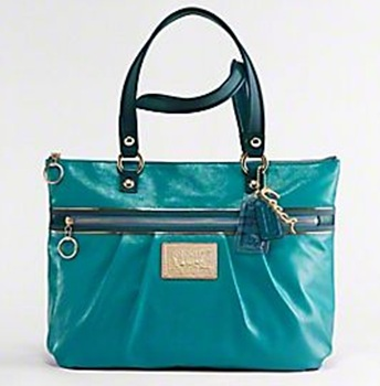 coach patent leather tote. Coach Poppy Patent Leather