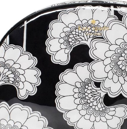Kate Spade Japanese Floral Onis Pouch - Black Cream PWRU2731, 250, Pouch, Kate Spade